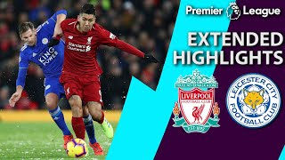 Liverpool v. Leicester City   PREMIER LEAGUE EXTENDED HIGHLIGHTS   1/30/19   NBC Sports