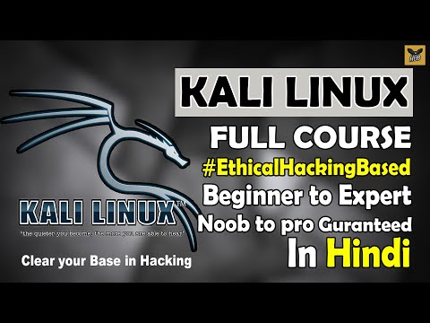Kali Linux Full Course in One Video | Full Tutorial for Beginners to Expert [Hindi]