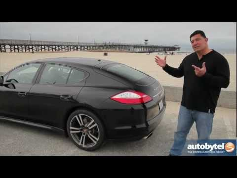 2012 Porsche Panamera Test Drive & Luxury Sports Car Video Review