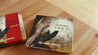 Il Cannone Violin A String - aluminum/synthetic: Medium
