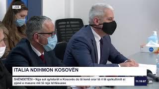 Drejtëpërdrejt - Italia ndihmon Kosovën 28.05.2020