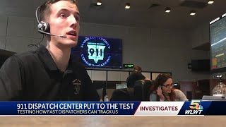 911 dispatch center put to the test