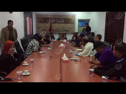 الاستعداد لإطلاق الحملة الوطنية للتشجير بمدينة طبرق