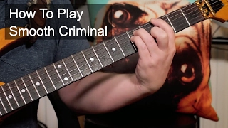 'Smooth Criminal' Alien Ant Farm / Michael Jackson Guitar Lesson