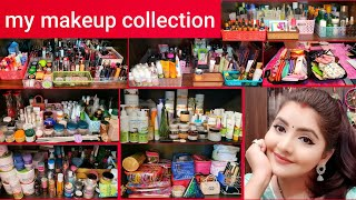 My Makeup Collection And Storage | RARA | First Time Ever | Most Awaited Video | ये तो बस शुरुवात है