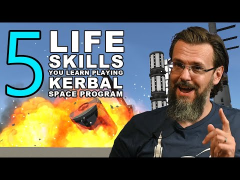 5 Life Skills You Learn By Playing Kerbal Space Program