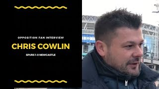"Opposition fan Chris Cowlin: ""Spurs fans are sick of Wembley"""