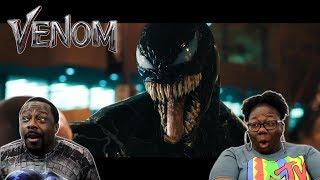 VENOM - Official Trailer {REACTION!!}