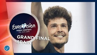 Spain   LIVE   Miki   La Venda   Grand Final   Eurovision 2019