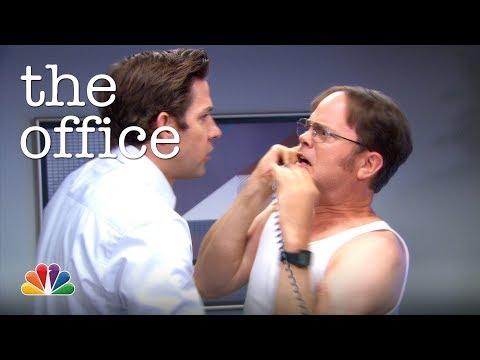 Jim's Radio Prank on Dwight - The Office