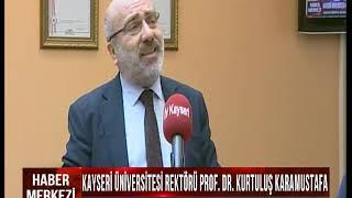 """Rektörümüz TV Kayseri'de """"Haber Merkezi"""" Programına Konuk Oldu"""