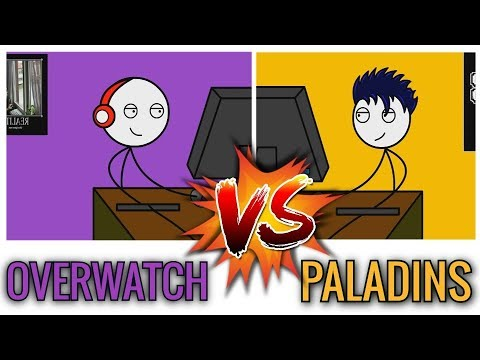 OVERWATCH GAMERS VS PALADINS GAMERS