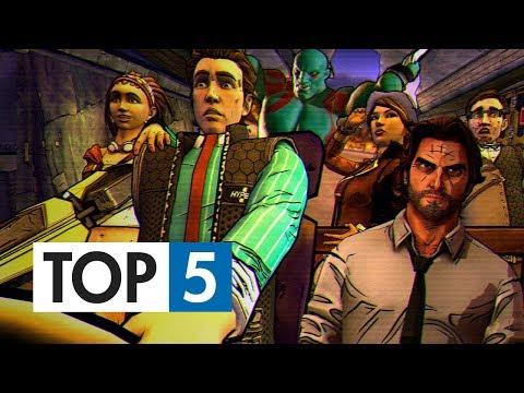 TOP 5 - Nejlepších Telltale her