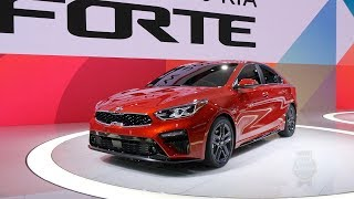 2019 Kia Forte - 2018 Detroit Auto Show