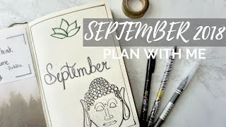 Law Of Attraction Bullet Journal   September 2018 Plan With Me
