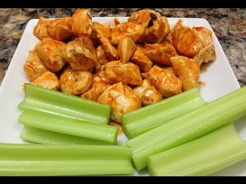 Video Healthy Buffalo Chicken Recipes - HASfit Healthy Dinner Recipe - Healthy Chicken Recipes