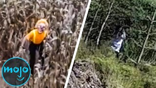 Top 10 Creepiest Things Caught On Camera By Drones