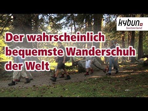 Wandern mit dem kyBoot - Der wahrscheinlich bequemste Wanderschuh der Welt