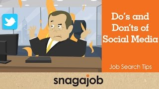 Job Search Tips (Part 20): Dos And Donts Of Social Media
