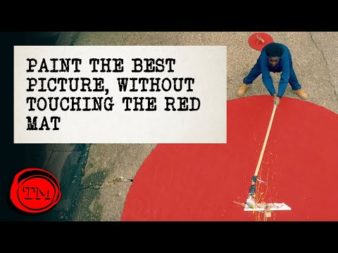Paint The Best Picture Of The Taskmaster, Without Touching The Red Mat - FULL TASK