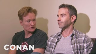Conan Forces Jordan Schlansky To Clean His Filthy Office - Video Youtube