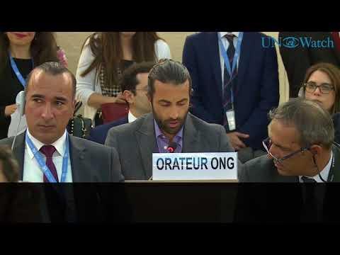 """נאום מדהים בעד ישראל במועצת זכויות האדם של האו""""ם"""