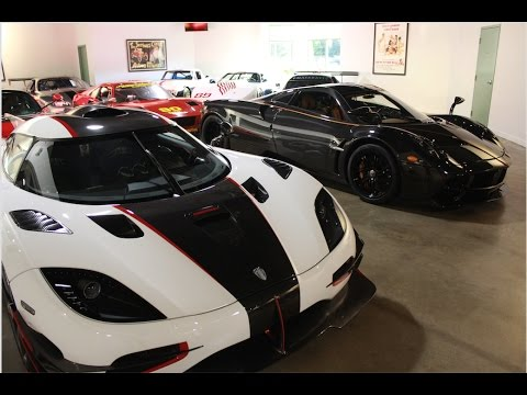 THE MOST EXPENSIVE CAR COLLECTION IN THE WORLD | Lake Forest Sports Cars Chicago