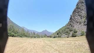 DPJ FPV freestyle Drone flight in Catalonia
