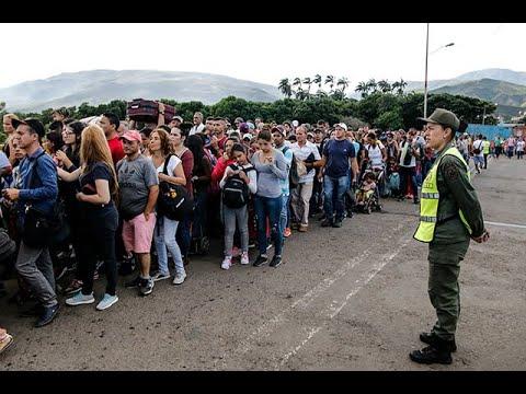 Impresionante flujo de venezolanos en la frontera tras reapertura de pasos por Tachira