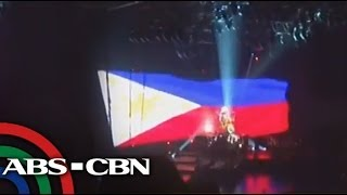 PH flag gets moment in Bruno Mars concert