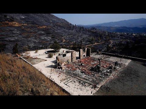 Κύπρος – Πυρκαγιά: Υπό πλήρη έλεγχο – Μετρούν τις πληγές τους οι κοινότητες …