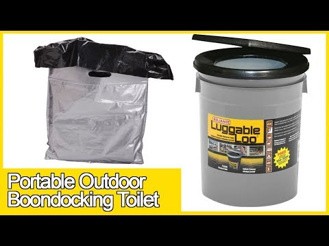 RVers review: Luggable Loo Outdoor Portable Boondocking Toilet