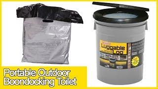 Luggable Loo Outdoor Portable Boondocking Toilet