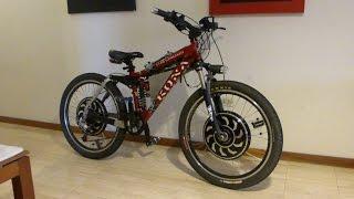 Test to Magic Pie 4 - 2KW Electric Bike  - Ride around Miraflores, Lima - Perú.