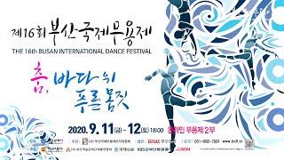 '제16회 부산국제무용제' 온라인상영 2부 (2020.9.12)