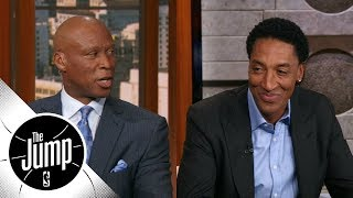 Byron Scott and Scottie Pippen disagree on Rookie of the Year pick | The Jump | ESPN - Video Youtube