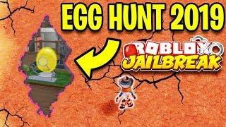 Jailbreak EGG HUNT 2019 SECRET REVEALED!? Airport Robbery Update!?   Roblox Jailbreak New Update