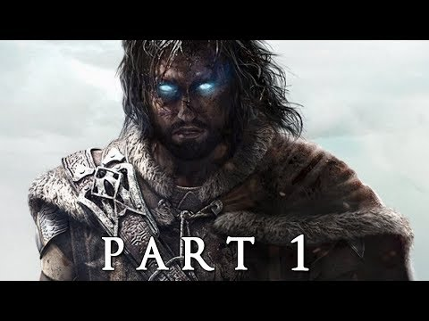 SHADOW OF WAR Walkthrough Gameplay Part 1 - Shelob (Middle-earth)