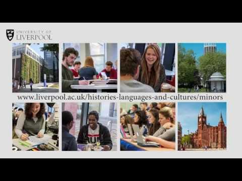 Choosing a minor subject at University of Liverpool