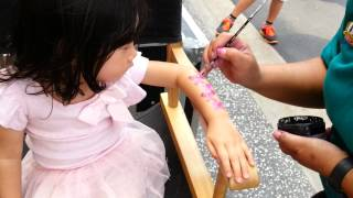 Arm Painting At Universal Studios Singapore