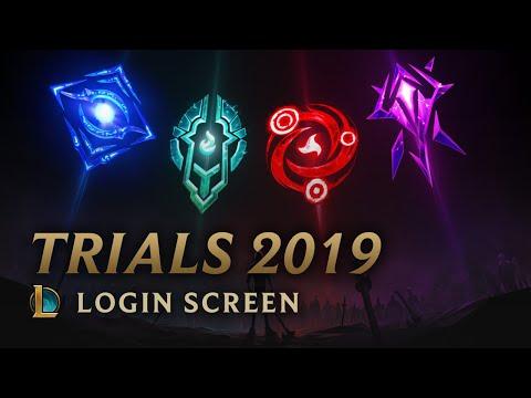 Mid-Season Trials 2019 | Login Screen - League of Legends