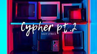 BTS (방탄소년단) 'Cypher pt.2: Triptych' - EASY LYRICS [PRONUNCIACIÓN]