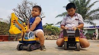 Trò Chơi Bé Vui Lái Xe Máy – Xe Máy Xúc ❤ ChiChi ToysReview TV ❤ Đồ Chơi Trẻ Em Baby Toys Fun Song B