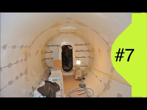 Interior Design - Decorating weird spaces.. an Underground Bomb Shelter