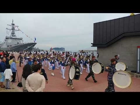 Indonesian Naval Band In Jeju