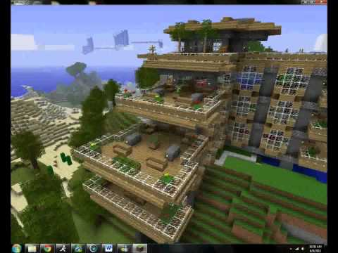 Top Minecraft Creations Houses EXTREM - Minecraft server flache welt erstellen