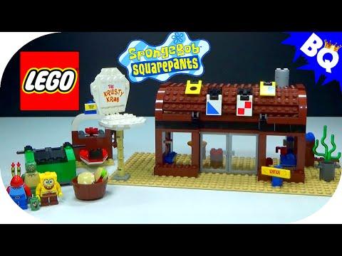 Vidéo LEGO Bob l'éponge 3825 : Le crabe croustillant