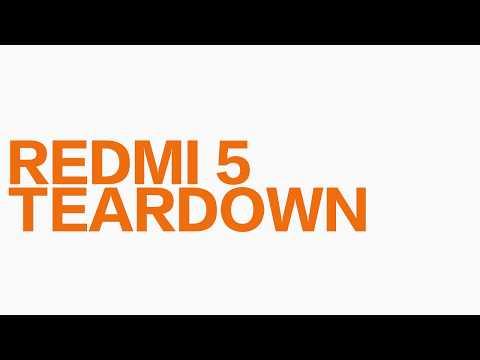 Разбор Redmi 5
