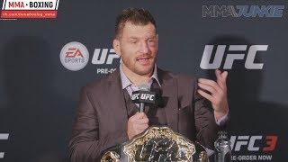 Стипе Миочич - лучшие моменты конференции после UFC 220