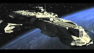 Earth Spaceships in Stargate